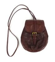 1D555 Ralph Lauren kisméretű barna bőr táska válltáska