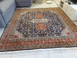 Álomszép Hereke minta 220x225 kézi csomózású gyapjú perzsa szőnyeg MM_717