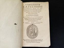 Antik ritka latin könyv 1570-ből több mint 30 fametszettel