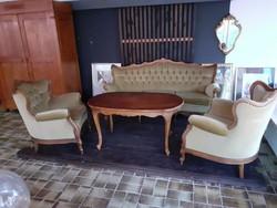 Warrings négy darabos mohazöld ülőgarnitura