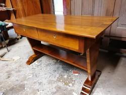 Antik biedermeier íróasztal restaurált