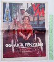 Vasárnapi Magazin 1993/3/27-28 Catherine Deneuve Oscar díj Nemere István Karl Lagerfeld
