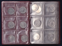 28 db vegyes külföldi lot érmeberakóban (id46987)