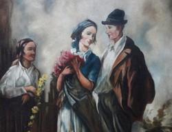 Ács Ágoston eredeti festménye-leárazáskor nincs felező ajánlat