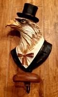 New! Large, sophisticated eagle figure / hanger / hanger