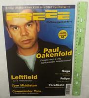 Freee magazin 1999/11 #45 Paul Oakenfold Leftfield Commander Tom Middleton Naga Árral Szemben Straub
