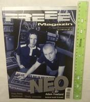 Freee magazin 1999/7 #41 Neo Plastikman Freq Nasty Charly Lownoise Adam Freeland Sub Bass Monster Fr