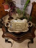 Antik 1836 Bécsi ezüst kínáló tál! 760gramm.