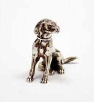 Ezüst vizsla miniatűr figura (ZAL-Ag89926)