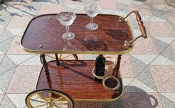 Zsúr  kocsi,Olasz,Italy, Francia,Retro,Vintage,Chariot,