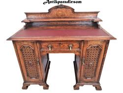 A279 Nagyon szép antik kisméretű íróasztal