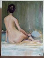 Nő tükörrel, Aaron Westerberg képe alapján