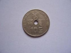 Belgium 10 Centimes 1938   Belgique-Belgie   EF