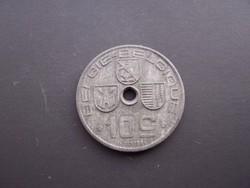Belgium 10 Centimes 1941   Belgie-Belgique  EF