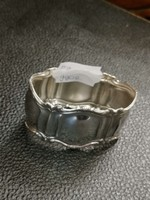 Ezüst szalvétagyűrű  ovális  forma 800 - ás finomság.