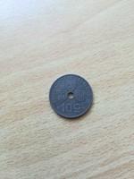 Belgium 10 Centimes 1943  Belgique-Belgie  EF