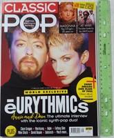 Classic Pop magazin #39 2018/4 Eurythmics UB40 Madonna Morrissey Mike Stock Clare Gorgan Fatboy Slim