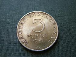 Táncsics sor  5 forint 1948
