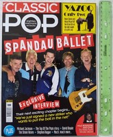Classic Pop magazin #46 2018/11 Spandau Ballet Yazoo Stone Roses Michael Jackson Nile Rodgers Bowie