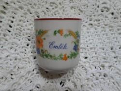 Zsolnay kávés csésze.