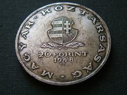 Táncsics sor  20 forint 1948