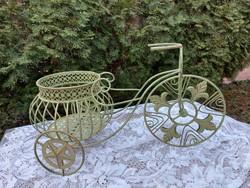 Kerti bicikli virágtartó
