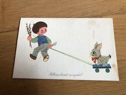Kellemes Húsvéti Ünnepeket - Sóti Klára rajzos képeslap