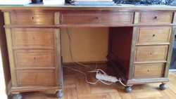 Szecessziós íróasztal
