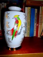 Japán   porcelán váza kézzel festett , szép állapotban