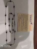 Magnólia ezüst nyaklánc karkötő