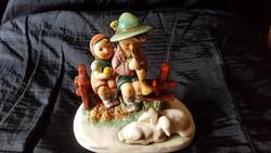 Dupla porcelánfigura, Hummel
