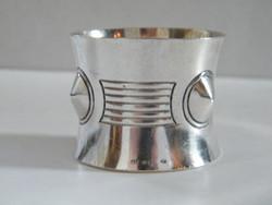 Eredeti art deco ezüst szalvétagyűrű