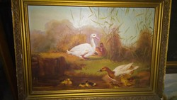 Állatos festmény