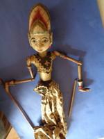 Antik  Indonézia  marionett báb bábművészet bábszínház