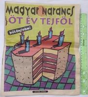 Magyar Narancs újság / magazin - Különszám: Öt év tejföl - 1995