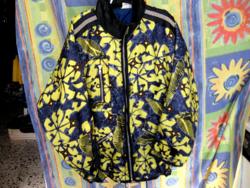 Sárga-fekete vízlepergető dzseki XXXL