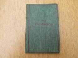 (1902) Kron. Vocabulary - The Little Londoner and English Daily Life (szójegyzék)