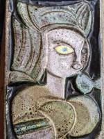 Zsolnay - Pirogránit falikép