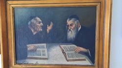 Rabbik. Kaufmann B .19 századi festő