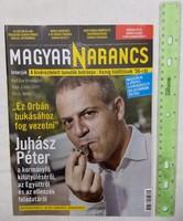 Magyar Narancs újság/magazin 2016/43 Juhász Péter Knausgard Orsós János 30Y Depeche Mode