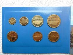 Hollandia 7 darab érme 1988 LOT !