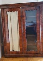 Biedermeier  2 ajtós polcos szekrény
