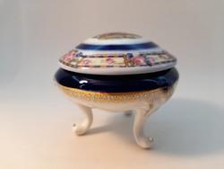 Régi Cseh porcelán bonbonier