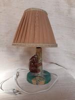 Figurális kerámia lámpa, működik
