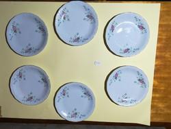 Walbrzych lengyel porcelán sütis szett 6 db-os