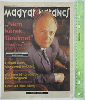 Magyar Narancs újság/magazin 1997/1+2 Medgyessy Rutger Hauer Rita Mitsouko Tricky Korai Öröm Peru