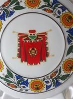 Katonai, militária: retro Hollóhazi Pálinkás butella/butelia/palack régi szocialista címerrel