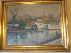 Halász Szabó Sándor-Kikötő