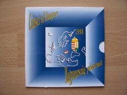 Dísztokos Forint forgalmi sor 1993  BU