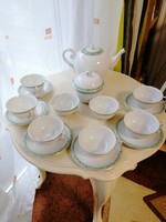 Herendi 6 személyes teás készlet (AVS) 12 személyes teáskannával és cukortartóval+ 2 ajándék.